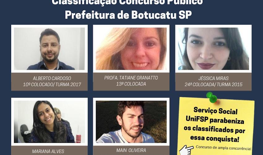 UNIFSP EMITE NOTA DE PARABENIZAÇÃO