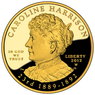 US Gold Coins  Caroline Harrison 10 Dollars First Spouse Gold Coin
