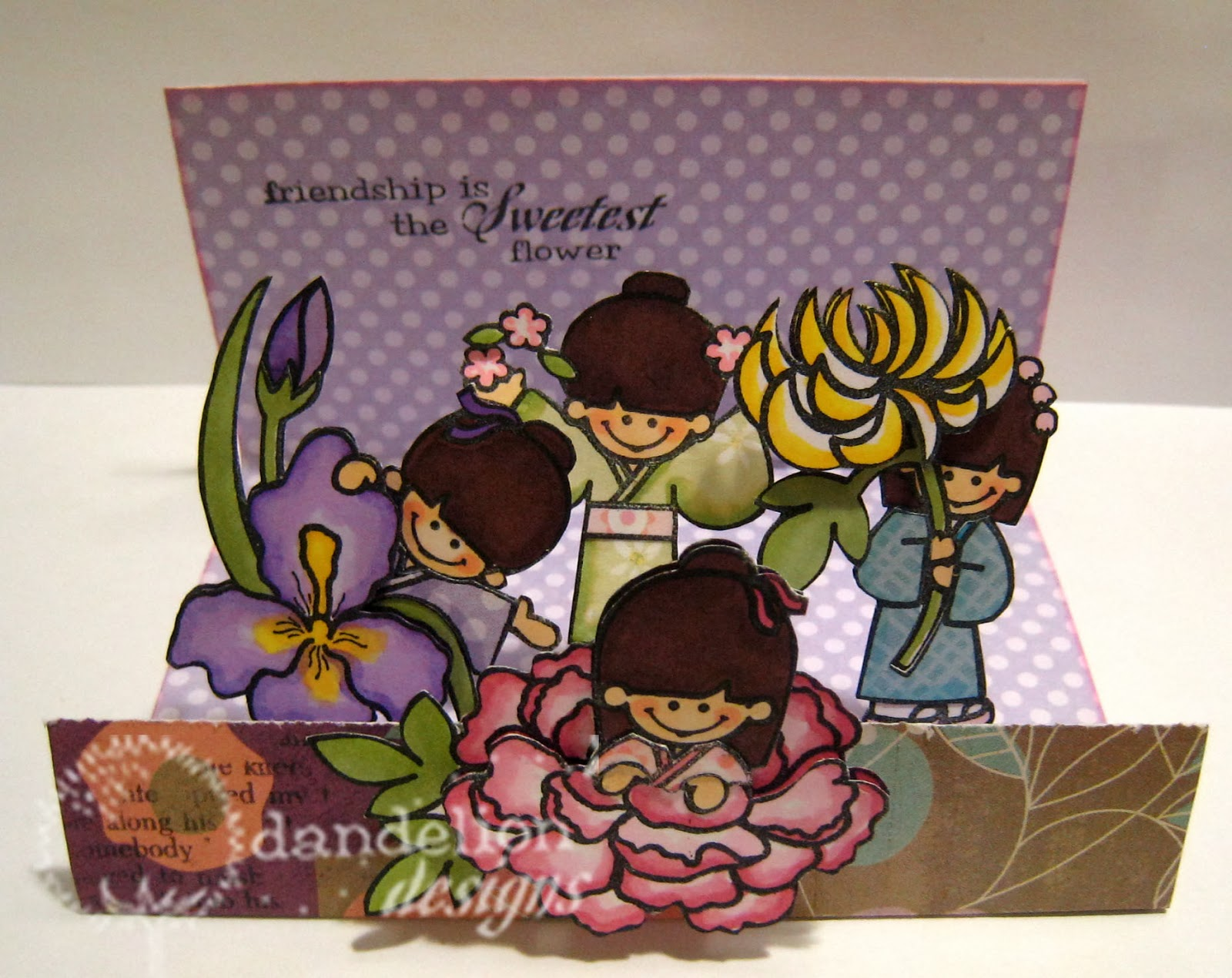 Dandelion Designs Flower Girls