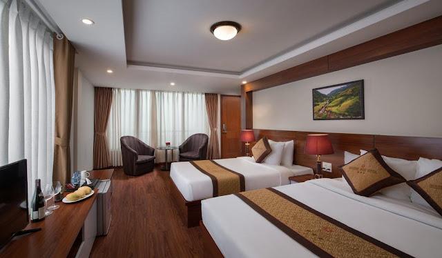 Phòng 2 giường  -khách sạn sapa golden villa sapa