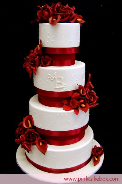 Hadil S Blog Silver Wedding Cake The 50th Wedding