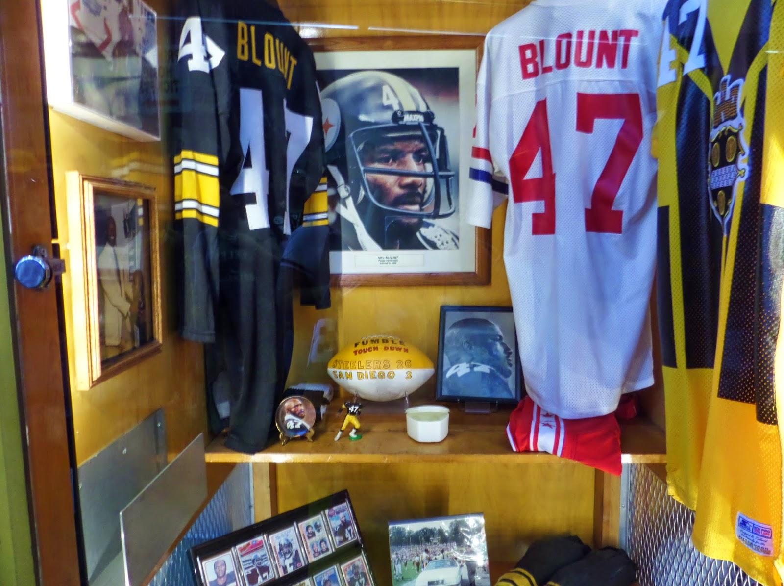Mel Blount Hall Of Fame Heinz Field