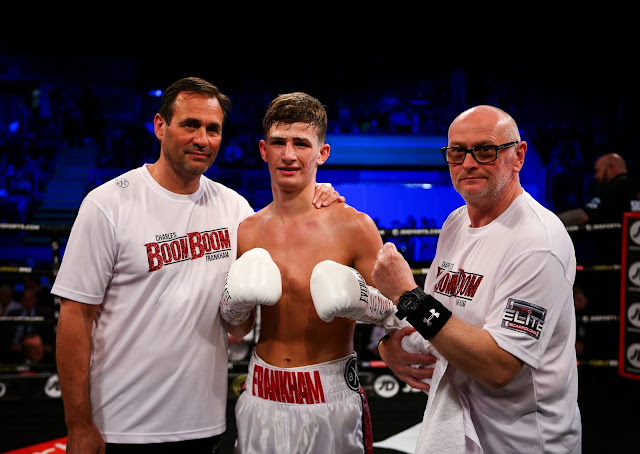 Charles Frankham defeats. Istvan Kovacs In Pro Debut (40 - 37)×3
