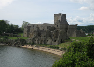 Incholm Abbey, Inchcolm, Scotland