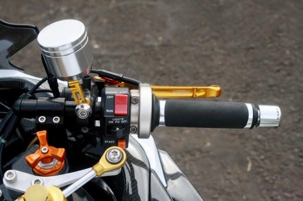 Modifikasi Ninja 250 FI Model Gambot Jakarta Barat Terbaru 2021