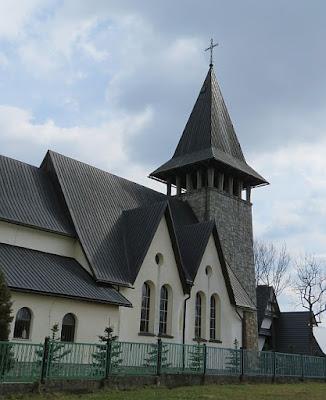 Kościół pw. Przemienienia Pańskiego w Maruszynie.