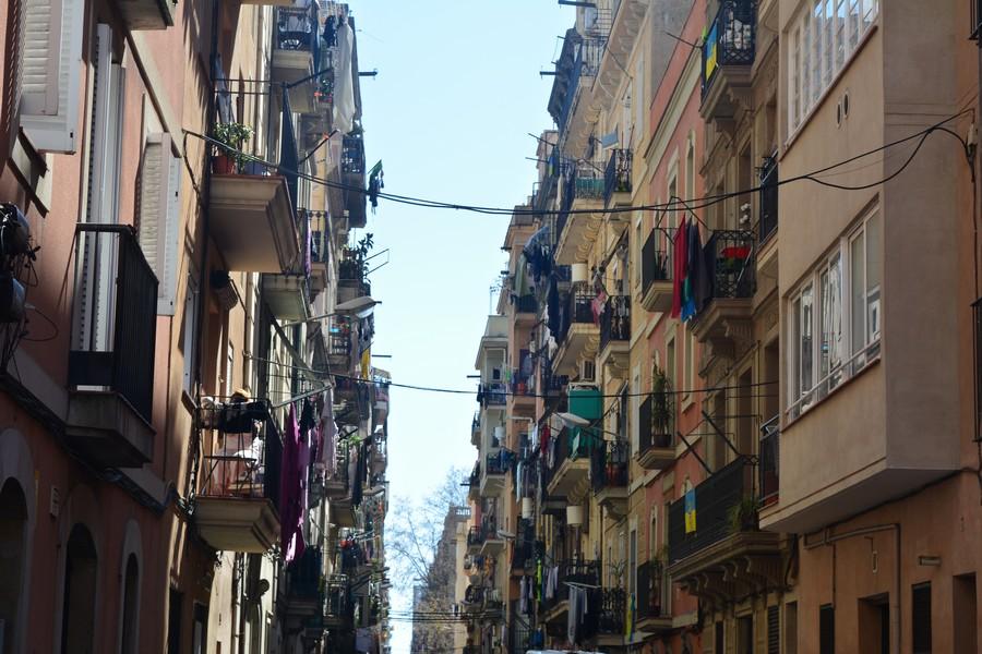 Rue de la Barceloneta