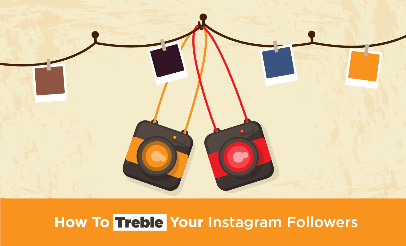 How To Treble Your #Instagram Followers – #Infographic #socialmedia