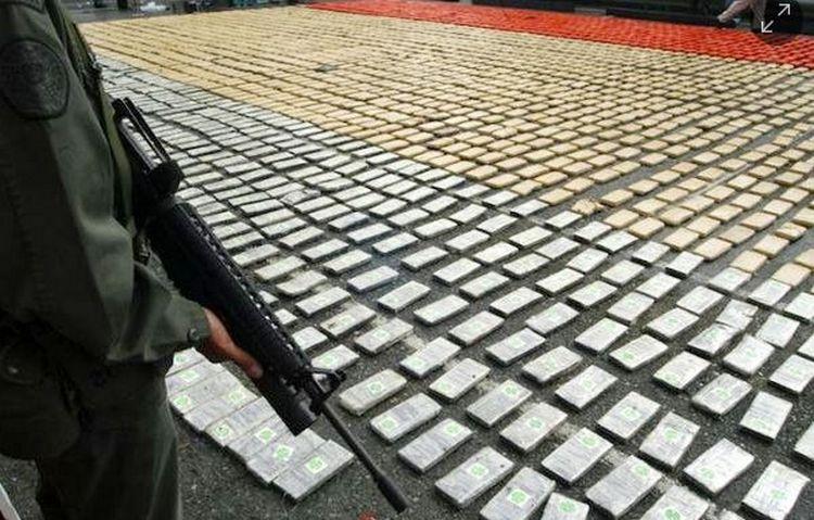 Detenidos 16 mexicanos integrantes del CDS, con 1300 kilos de coca en Colombia.