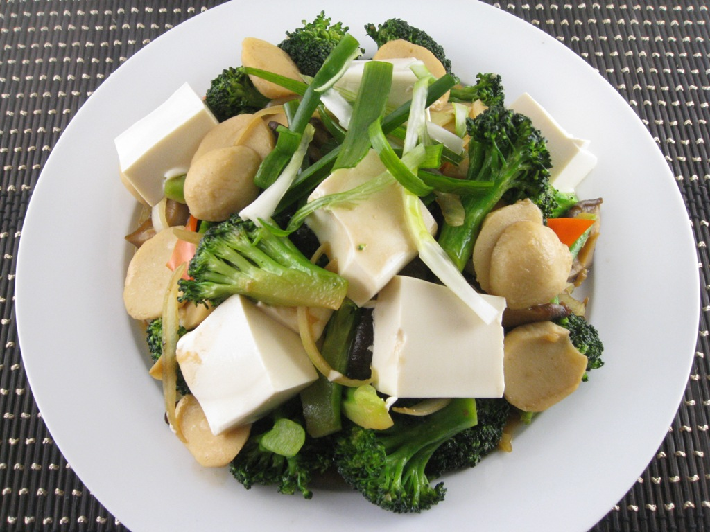 Mixed Sauteed Vegetables Chinese Food