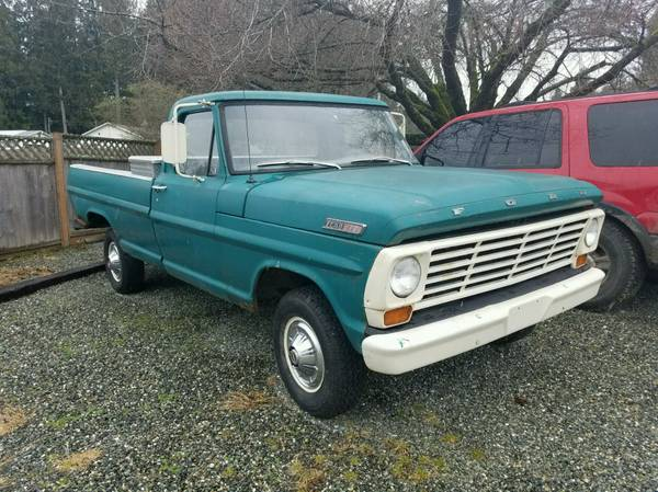 Very Original, 1967 Ford F100 4x4 Truck