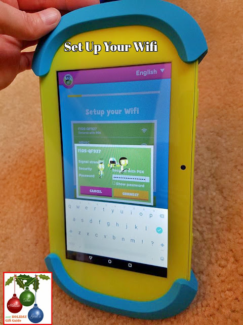 PBS Kids kids safe tablet, PBS Kids, Holiday Gifts for kids, kids tablets