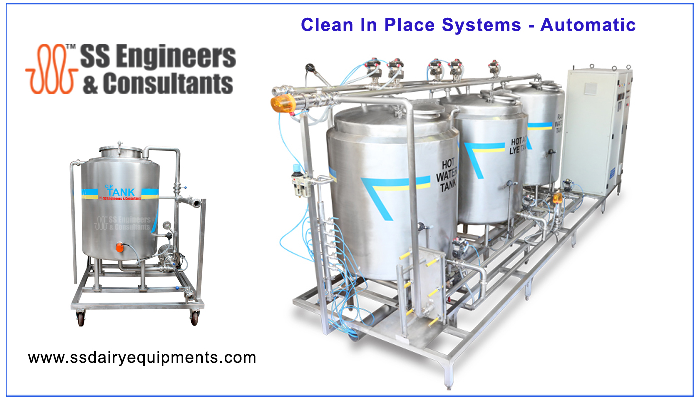 Clean In Place System ( CIP System )