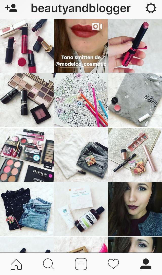 resumen instagram beautyandblogger