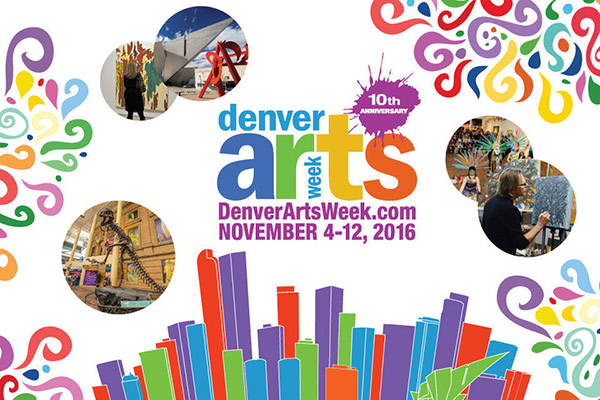 Denver Arts Week 2016 promotional ad
