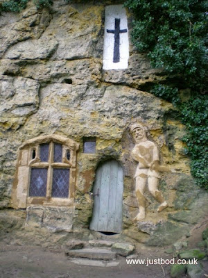 Chapel of Our Lady of the Crag Knaresborough Yorkshire