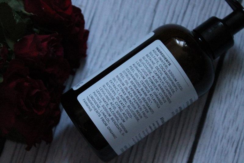 evolve organic beauty luksusowa kąpiel do dłoni i ciała z aloesem i cedrem