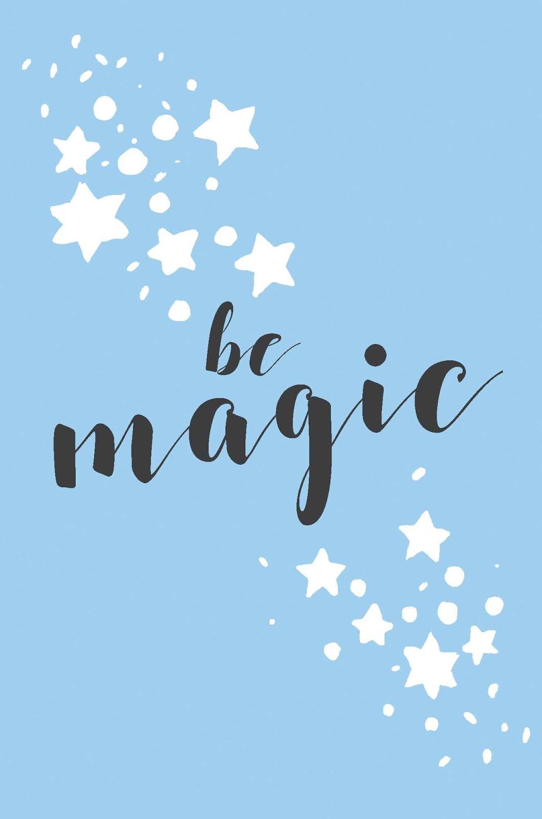 Be Magic Christmas Card