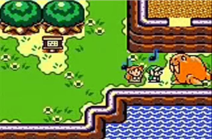 Legend of zelda Link's Awakening Marin