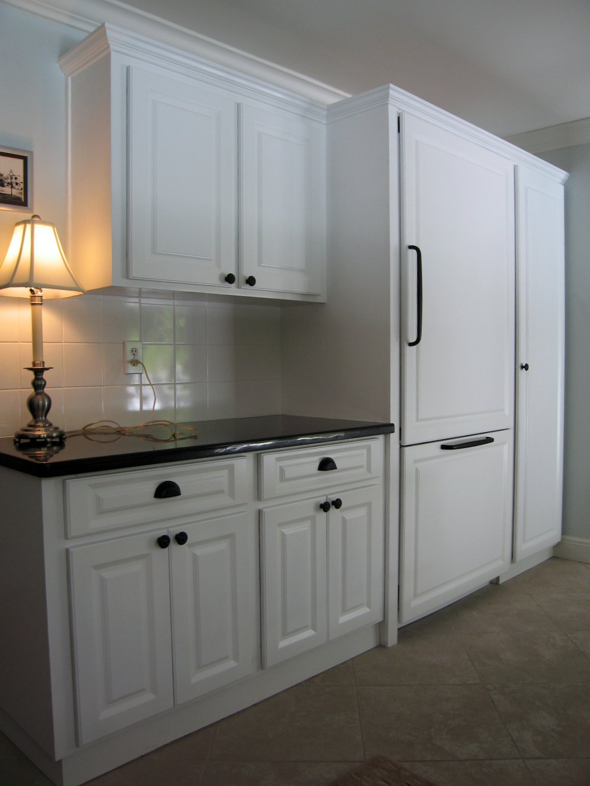 Larger Doors Than Cabinet In Kitchen Remodel