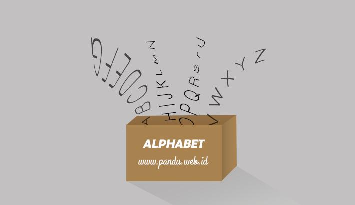 ALPHABET atau ABJAD