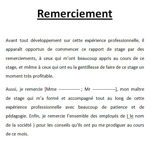 Conclusion dun rapport de stage guide conseils exemple digiSchool