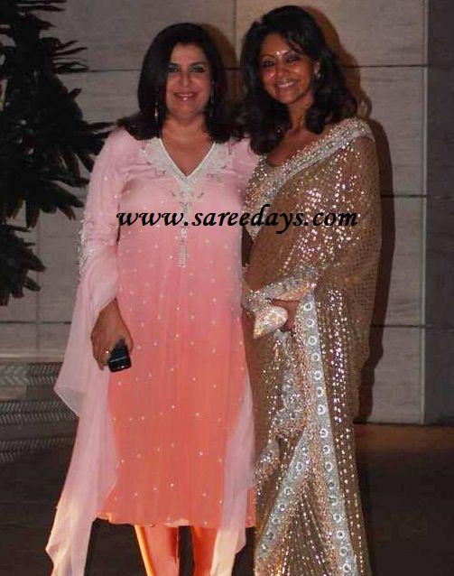 gauri khan in saree - photo #15