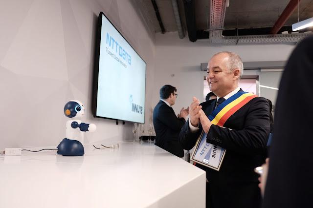 """NTT DATA Romania a inaugurat laboratorul de inovaţie """"INNU18"""""""