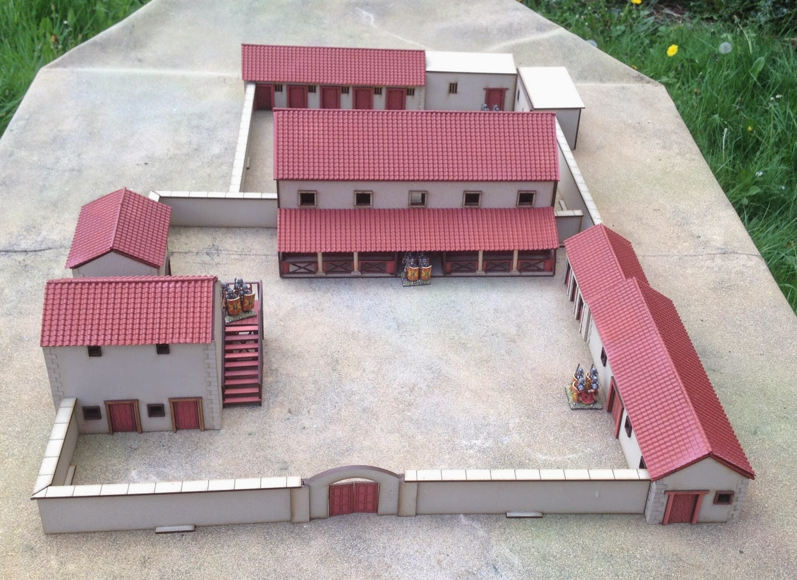 Roman Villa Floor Plan Lock Up Your Sheep 28mm Roman Villa And Ludus