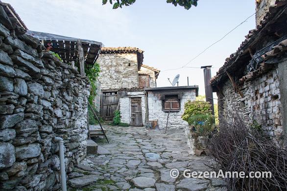 Şirince'de taş sokaklarda taş fırın, Selçuk İzmir