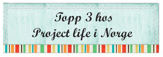 Topp 3 hos Project Life Norge!
