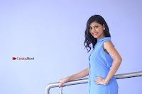 Telugu Actress Mounika UHD Stills in Blue Short Dress at Tik Tak Telugu Movie Audio Launch .COM 0023.JPG
