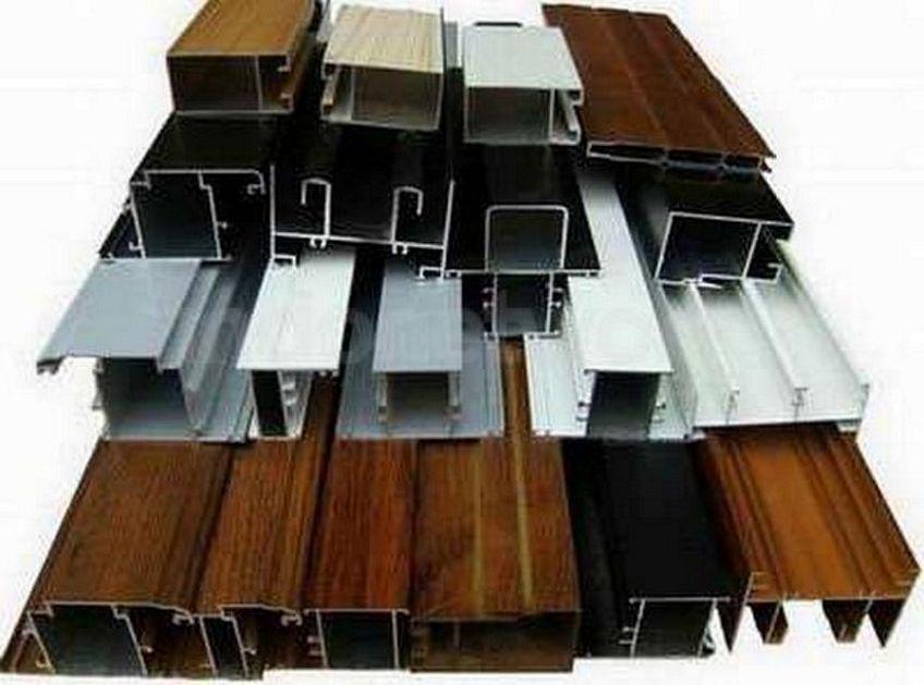 pintu aluminium urat kayu 2