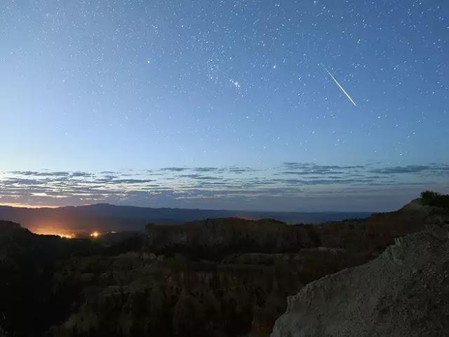 Le migliori foto delle stelle cadenti di quest'anno
