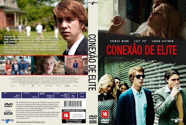 Capa DVD Conexão De Elite