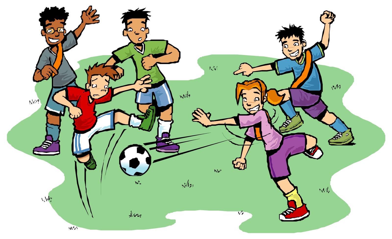 Mirzan Blog S Paling Keren Gambar Animasi Kartun Yang Sedang Bermain Futsal