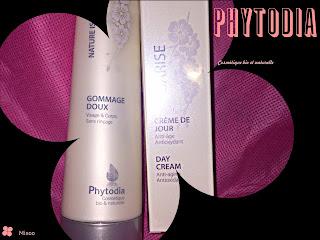 gommage doux crème jour bio phytodia blog