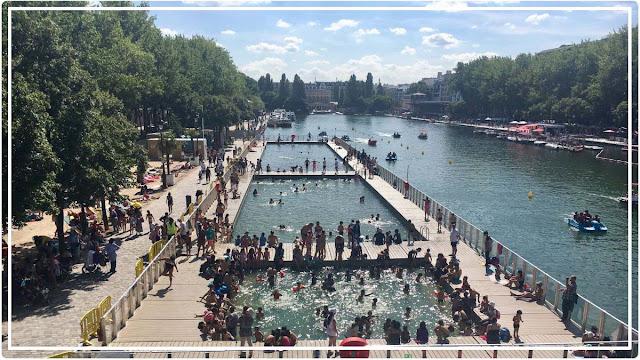 bassin de la Villette piscine
