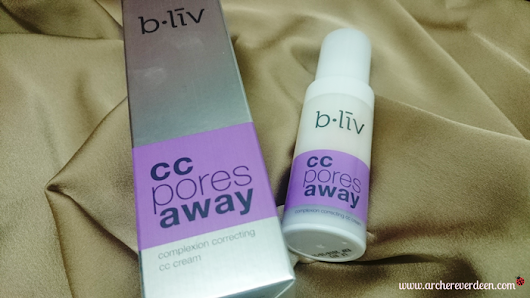 B.liv CC Pores Away Review | Mieza Everdeen