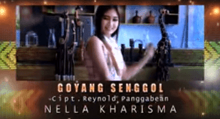 Lirik Lagu Goyang Senggol - Nella Kharisma