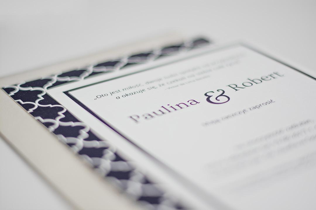 Nasze zaproszenia ślubne