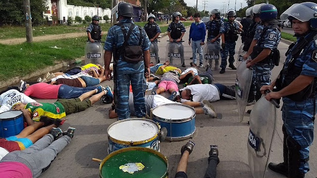 Detienen a 33 barras de ña facción disidente del Club Defensa y Justicia por amenazas de enfrentamiento entre Hinchas
