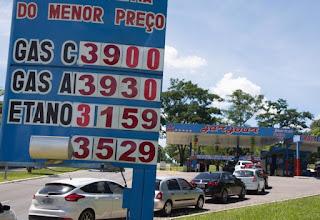 Após aumento, veja onde encontrar gasolina abaixo de R$ 4 no DF