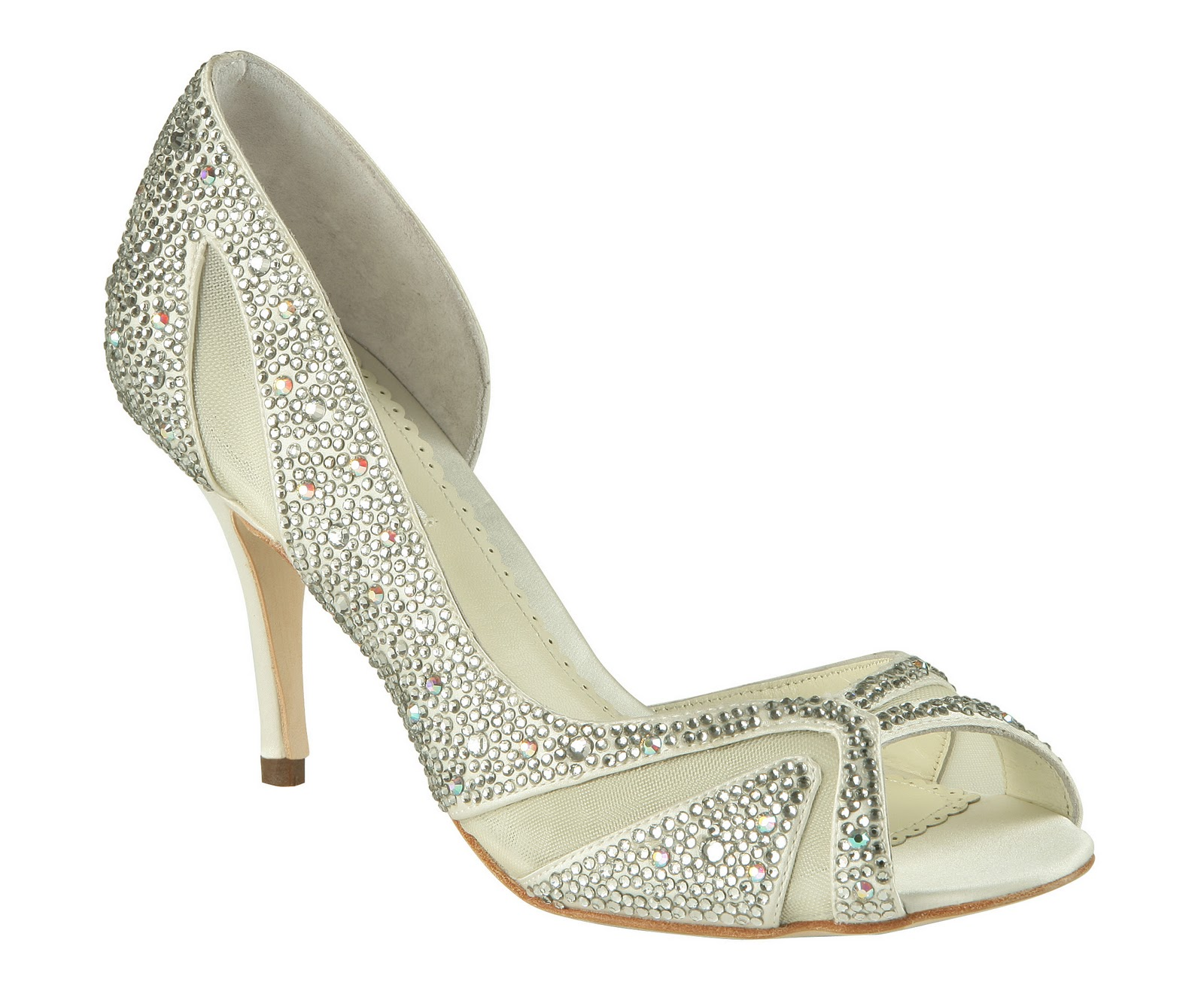 Wedding Dresses: Panache Bridal Shoes