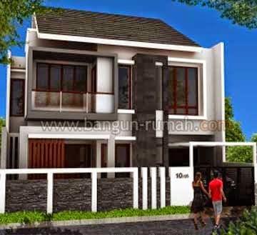 Rumah Minimalis 2 Lantai Lebar 10 Meter