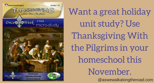 Thanksgiving unit study