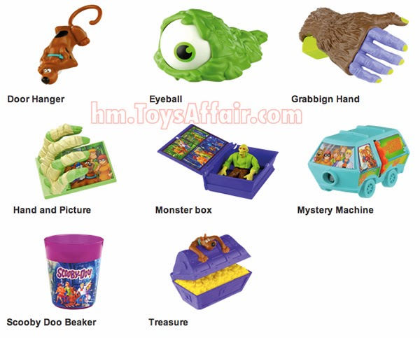 Scooby Doo Happy Meal Toys