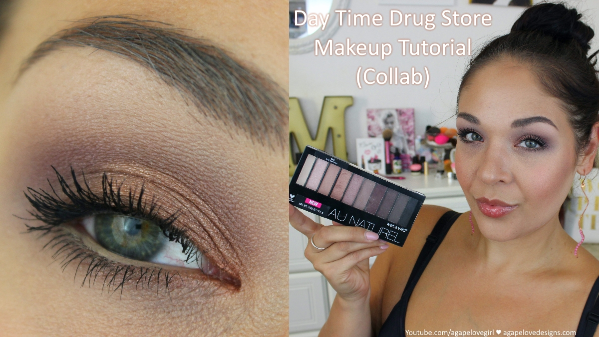 Wet N Wild Au Natural Palette | Drug Store Makeup Tutorial COLLAB