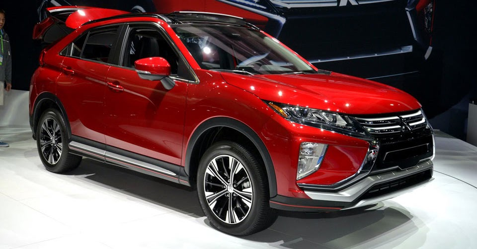 new mitsubishi eclipse cross lands in la with a 23 295. Black Bedroom Furniture Sets. Home Design Ideas