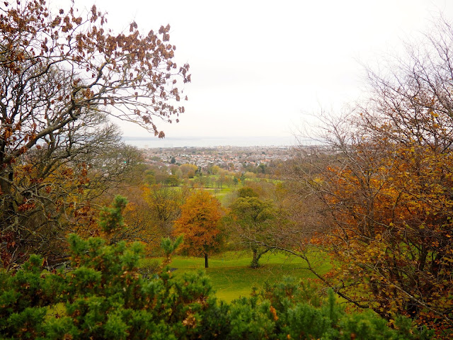 View from Corstorphine Hill, Edinburgh, Scotland